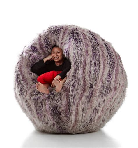 Design Ideas For Fuzzy Bean Bag Chair 17 Furniture Pieces