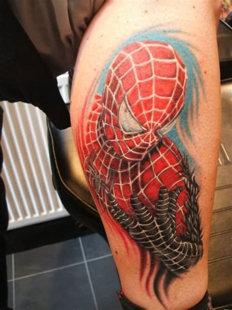 spiderman logo tattoo designs  pictures