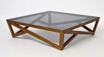 Bases For Glass Dining Room Tables Glass Coffee Tables With A Hardwood Lattice Base