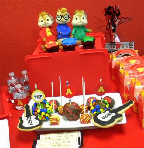 alvin and the chipmunks birthday ideas photo 7 of