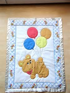 with balloons baby panel quilt 75 00 via etsy
