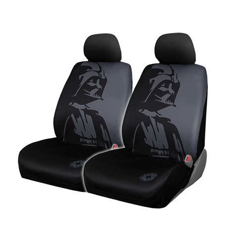 black bench seat covers 7pc star wars darth vader black front bench seat covers