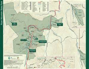 Tn State Parks Map by Roan Mountain State Park Tennessee State Parks