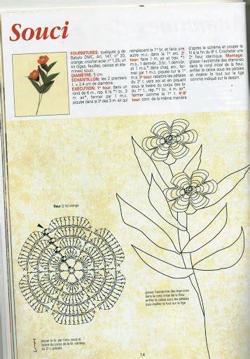 fiori con stelo all uncinetto 27 migliori immagini uncinetto fiori con stelo su