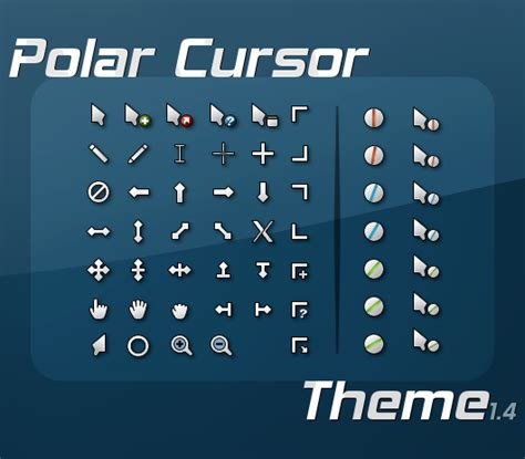 gnome mouse themes polar cursor theme www gnome look org
