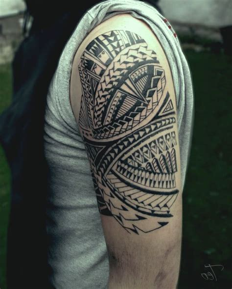 half sleeve tribal tattoos designs black tribal half sleeve