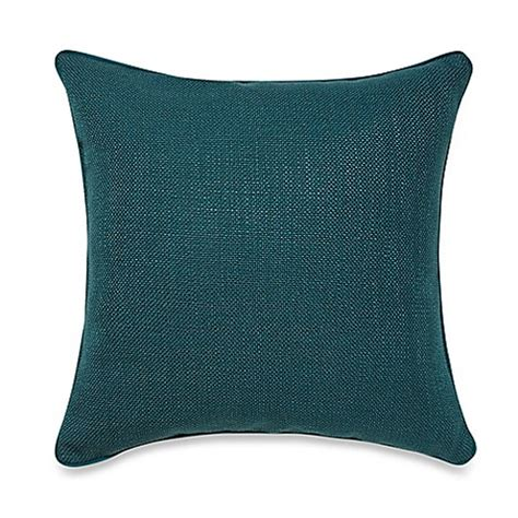 bed bath and beyond decorative pillows buy teena throw pillow in dark teal from bed bath beyond