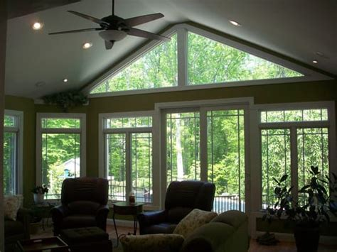 vaulted ceiling windows sunroom with cathedral ceilings and windows yelp