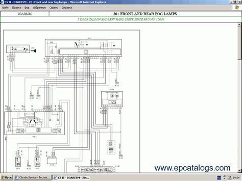citroen service box 2014 parts and service manual repair