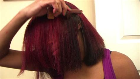 How To Get Out Pravana | how to get out pravana vivid red youtube