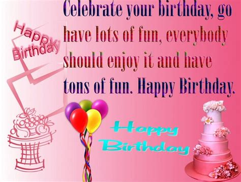 Happy Birthday Wishes To Small 110 Unique Happy Birthday Greetings With Images My Happy