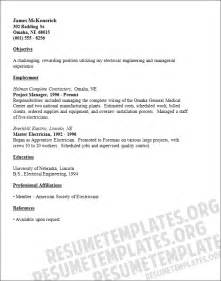 Resume Sle For Construction Company Construction Resume Sle Jennywashere Technician Resume Sle Resumecompanion 28 Images Pin By