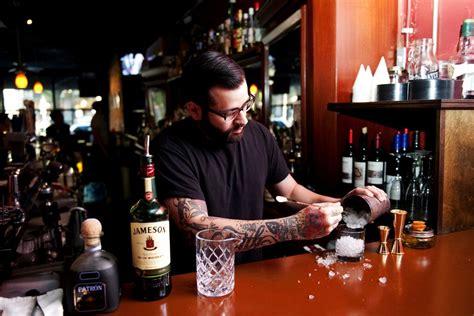 award winning bartender brings his mixology skills to downtown arbor