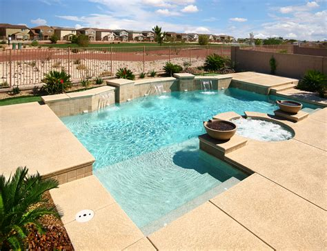 geometric pool geometric pools for homes hotels and resorts desert springs pools spas las vegas nv