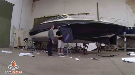 boat r follies 3m 1080 carbon folie boatwrap boatwraps deutschland youtube