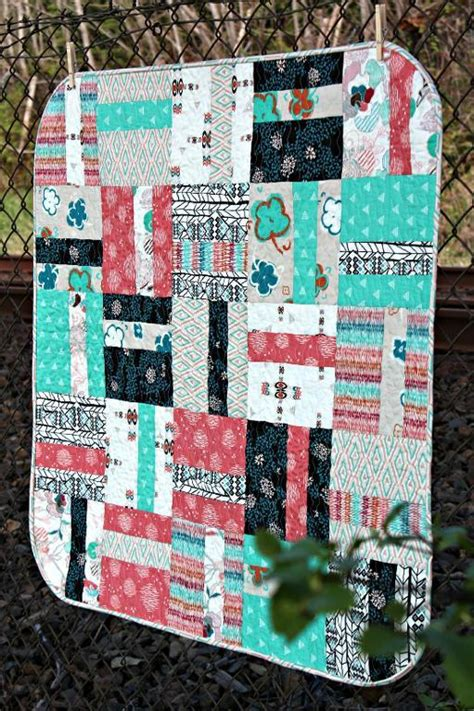 Quarter Quilt Patterns Free Quilt Pattern Quarter Cut Baby Quilt