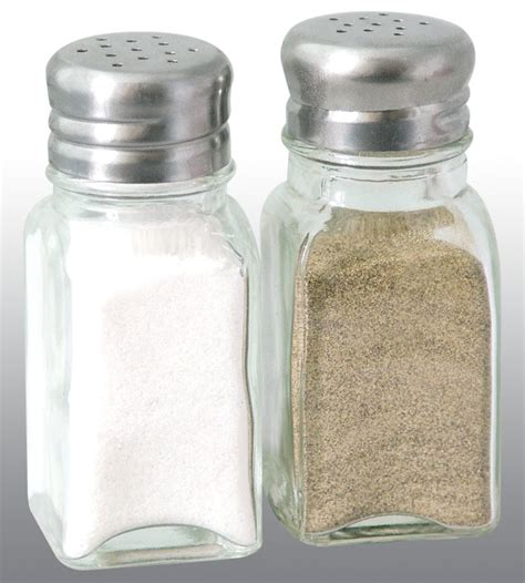 how to go from salt and pepper to all white hair tables home remedies food jars spices glasses black