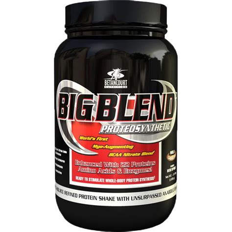 Big Blend Whey Betancourt Nutrition Big Blend Vanilla Whey Protein 2lb