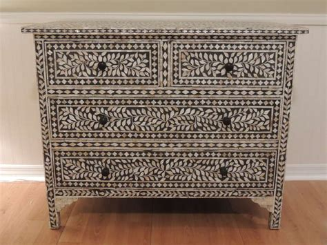 Of Pearl Dresser by Vintage Syrian Of Pearl Inlaid Dresser At 1stdibs