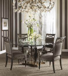 modern glass top dining room sets