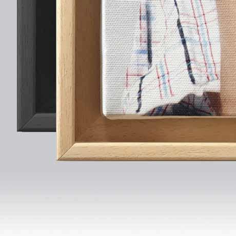 cornici a cassetta tela pittorica in cornice a cassetta americana