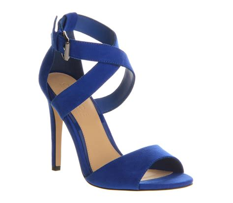cobalt high heels office je t aime cobalt high heels