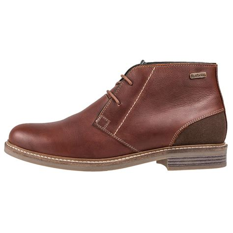 barbour mens boots barbour readhead mens chukka boots in chestnut