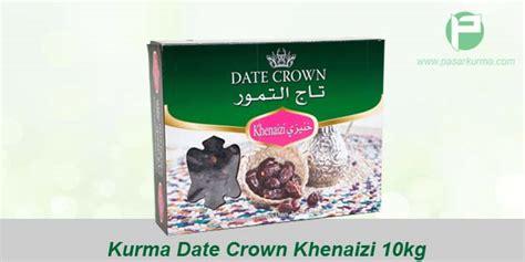 Kurma Naghal 10 Kg Kurma Arab Asli jual grosir kurma date crown khenaizi dus 10kg 10 pack