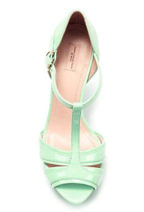 mint wedding shoes a popular color for 2013 weddings
