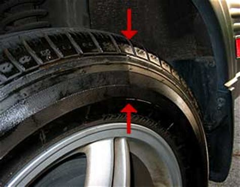 what does a bubble in the sidewall mean? doc's advice on