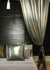 Stunning silver metallic glamorous curtain decorative drapery panels