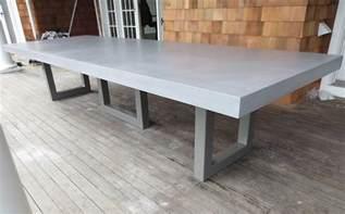 Concrete Kitchen Tables Custom Concrete Kitchen Dining Tables Trueform