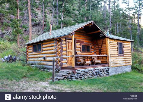 Remote Cabins by A Small Log Cabin In A Remote Part Of The Absaroka