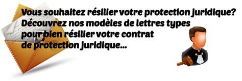Modele De Lettre Resiliation Protection Juridique Modele Lettre Resiliation Contrat Assurance Juridique Document
