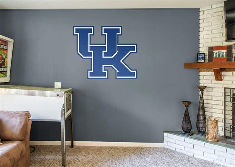 kentucky wildcats logo wall decal shop fathead 174 for