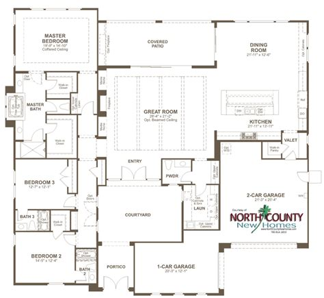 summit redmond floor plan san marcos new homes