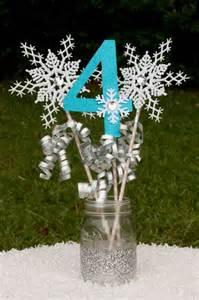 Frozen Centerpieces Frozen Table Centerpieces Centrepieces Frozen Party Ideas Blog