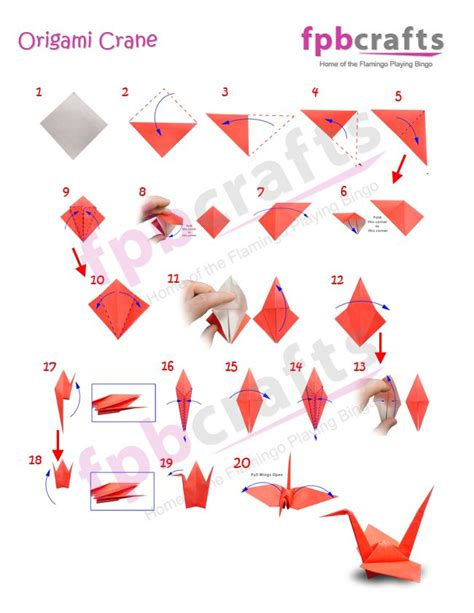 Origami Crane Pattern - 1000 images about diy origami on