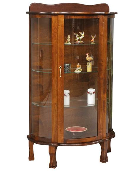 Build Your Own Curio Cabinet by Plain Curio Amish Direct Furniture