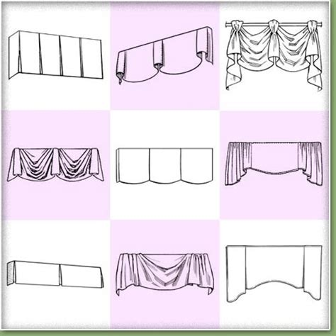 Window Valance Styles Valance Styles Details And Finishes