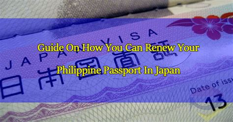 Guide on how you can renew your philippine passport while you are in