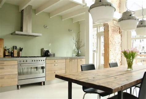 peinture cuisine vert anis peinture cuisine et combinaisons de couleurs en 57 id 233 es