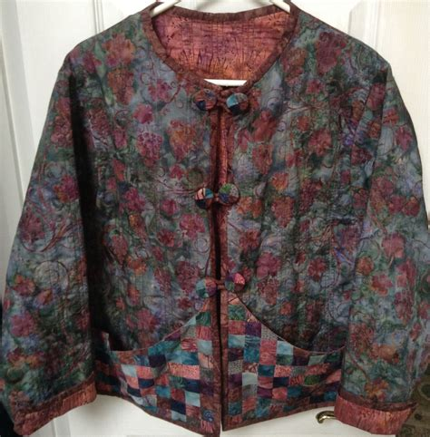 Patchwork Jacket Pattern - quilted sweatshirt jacket 7 2012 quilts etc