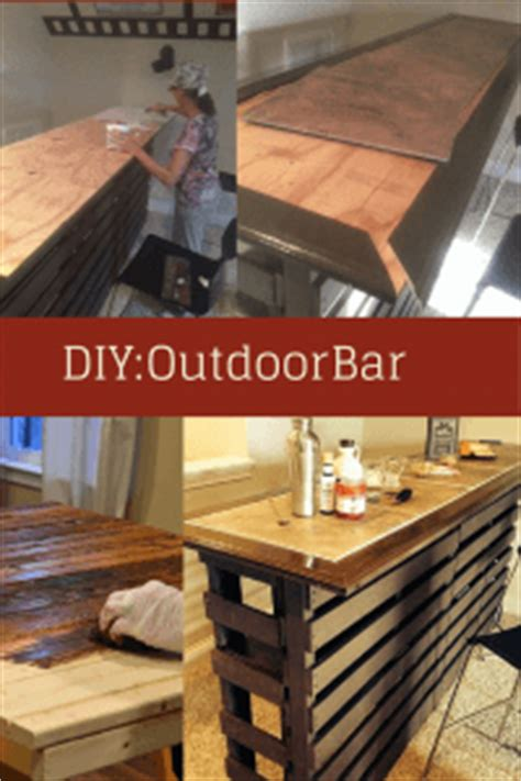 build your own patio bar diy build your own outdoor bar