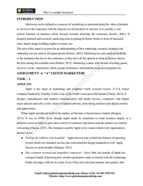 Introduction Letter Assignment Sle Marketing Report Social Media Marketing 10 Marketing Report Templates Free Sle