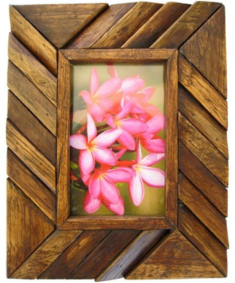 Handmade Wooden Picture Frames - handmade teak wooden picture frame made teakwood