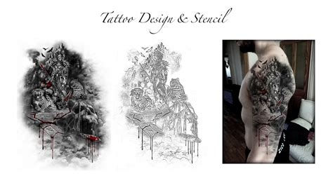how to tattoo design custom designs