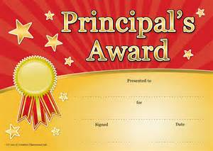 principal s award red amp gold principal collection