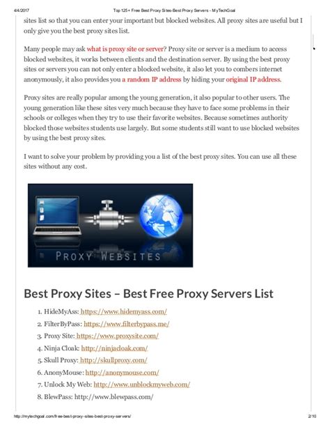 best proxy server free top 125 free best proxy best proxy servers my