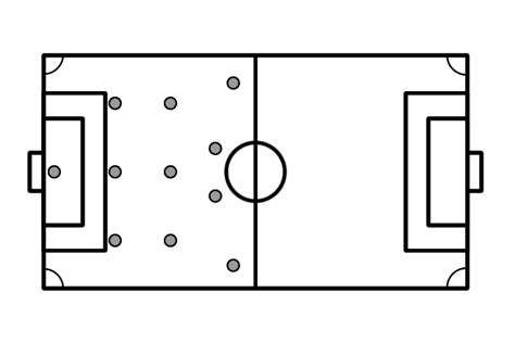 blank football field diagram football field diagram blank images